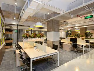 Thiết Kế Thi Công Nội Thất Văn Phòng BESPOKIFY ĐÀ NẴNG:  Văn phòng & cửa hàng by Dandelion Design Construction