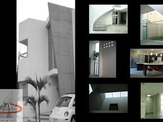 DISEÑO Y CONSTRUCCIÓN RESIDENCIAS de Mar Inn Arquitectura Minimalista