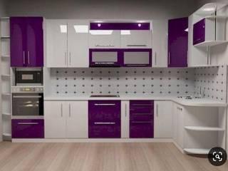 Prointero Interior Completed 2BHK Home Interior in Pune:  Kitchen units by Prointero Interior,