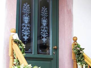 Glas für Haustüren im Landhausstil von Glasdekore Teufel Landhaus