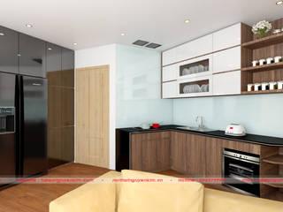 Bộ sưu tập mẫu tủ bếp hiện đại, hot nhất 2019 bởi Nội thất Nguyễn Kim