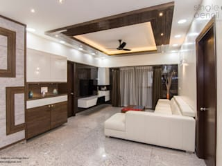 client : Raman gupta by single pencil architects & interior designers Minimalist