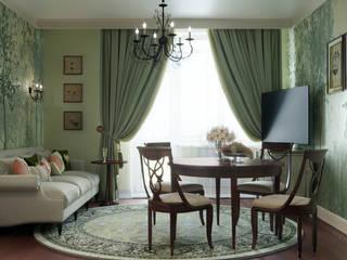 Phòng khách phong cách kinh điển bởi Zibellino.Design Kinh điển