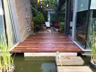 tetradecor – Zekeriyaköy, deck & mobilya uygulama:  tarz Balkon