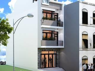 Asian style houses by Công ty TNHH sửa chữa nhà phố trọn gói An Phú 0911.120.739 Asian
