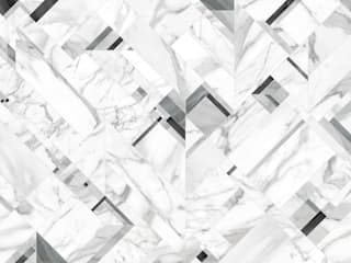 Tecnografica Moderne muren & vloeren Wit
