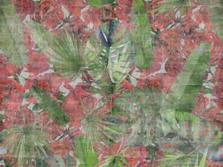 Tecnografica Tropische muren & vloeren Rood