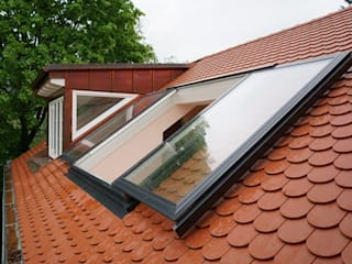 Roof sliding window von DachfenStar Modern