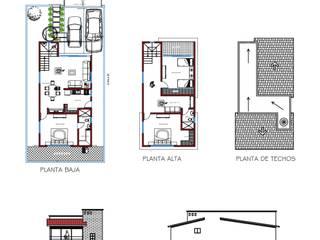 Diseño y construcción de Residencia de Comerssacon Minimalista