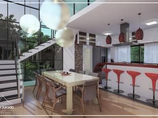 Juan Jurado Arquitetura & Engenharia Salle à manger moderne