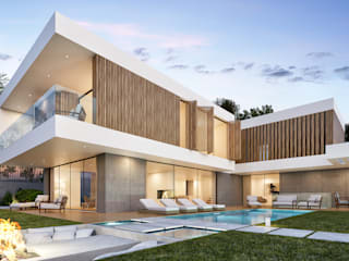 CASA PT1- Moradia no Belas Clube de Campo - Projeto de Arquitetura: Moradias  por Traçado Regulador. Lda,Moderno