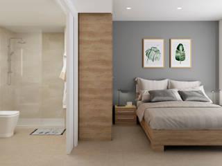 Infografías viviendas de Ardis3d Proyectos y diseños SL Moderno