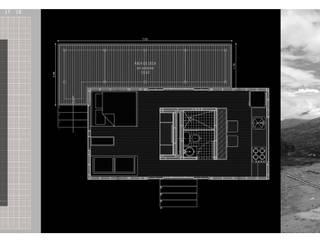 """PROTOTIPO EXTEND _ """"BARBOSA"""" Casas modernas de @tresarquitectos Moderno"""