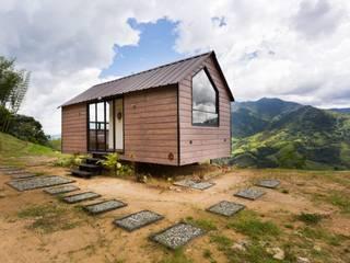 Prototipo Extend _ Barbosa Casas modernas: Ideas, imágenes y decoración de @tresarquitectos Moderno