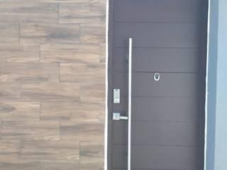ENGO MANUFACTURAS METALICAS Porte d'ingresso Metallo Nero