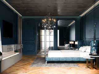 Toskana Vadisi Villaları Modern Yatak Odası Decorvita mimarlık Modern