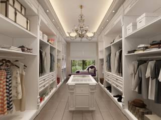 Decorvita mimarlık Modern dressing room White