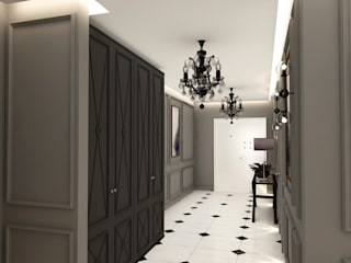 Toskana Vadisi Villaları Holü Modern Koridor, Hol & Merdivenler Decorvita mimarlık Modern