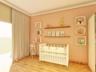 Igor Cunha Arquitetura Nursery/kid's roomAccessories & decoration