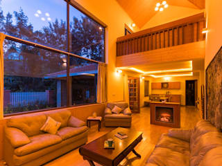 Fulbari - House of Gardens in the Nilgiris Rustic style living room by Vitrag Group Rustic