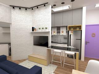 Cocinas de estilo ecléctico de Fareed Arquitetos Associados Ecléctico