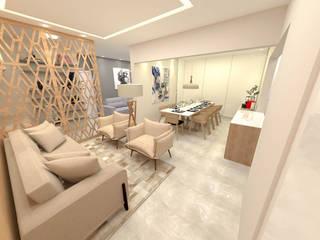 Livings de estilo moderno de Fareed Arquitetos Associados Moderno