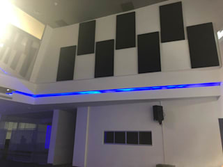 Sound Acoustic Panel Conference Hall in Kuala Lumpur Modern style media rooms by Kp Khoo Enterprise Modern