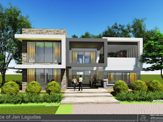 JANLAGUDAS HOUSE:   by LAarchitecture