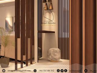 ترميم وتصميم مدخل الممر الحديث، المدخل و الدرج من Amjad Alseaidan حداثي