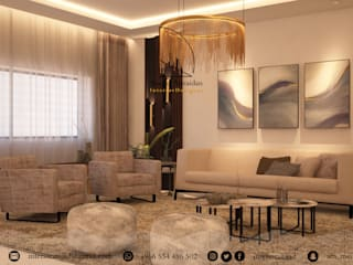 Living room by Amjad Alseaidan, Modern