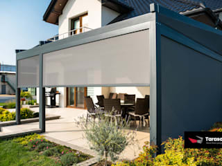 Modern balcony, veranda & terrace by TARASOLA - more than pergola Modern
