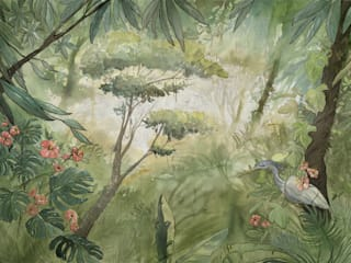 Tecnografica Tropische muren & vloeren Groen