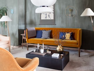 Eclectic style living room by Pure & Original Eclectic