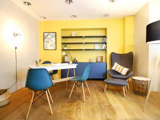 Cabinet Nutritionniste Nantes Ingrid Martin Décoration Espaces de bureaux scandinaves Bois composite Jaune