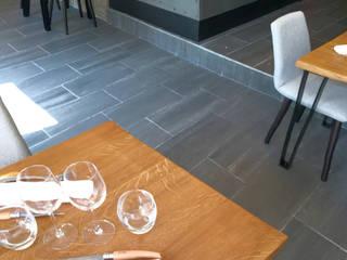 Restaurant bistronomique ICI Ingrid Martin Décoration Gastronomie industrielle