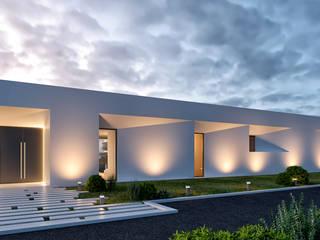CASA PCS1- Moradia em Tavira - Projeto de Arquitetura: Moradias  por Traçado Regulador. Lda,Moderno
