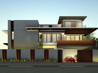 S Residence:  Bungalows by Tangram,