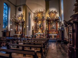 Beleuchtungskonzept einer Kirche Klassische Museen von Moreno Licht mit Effekt - Lichtplaner Klassisch