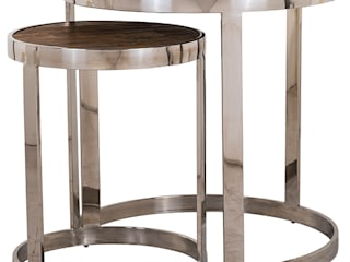 Side tables: rustic  by Modish Living, Rustic