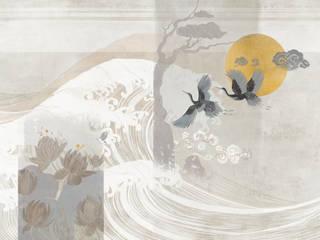 Tecnografica Aziatische muren & vloeren Grijs