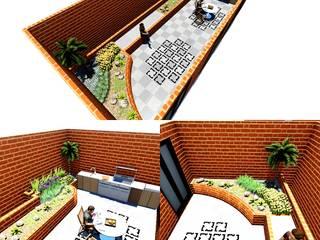 Diseños paisajistas:  de estilo  por Kasa Jardin,