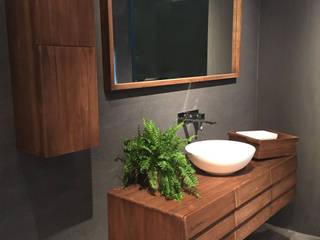 Residenciais RETHA Gestão & Reformas Inteligentes Banheiros rústicos