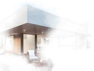 Otto Medem Arquitecto vanguardista en Madridが手掛けた一戸建て住宅