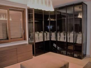 Interior design per Villa R.: Camera da letto in stile  di Sabina Casol - Architetto, Moderno