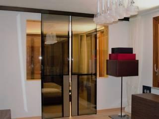 Interior design per Villa R.: Camera da letto in stile  di Sabina Casol - Architetto, Eclettico
