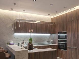Iluminação para cozinhas Cozinhas modernas por Solis Iluminação Moderno