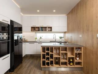 Iluminação para cozinhas Cozinhas escandinavas por Solis Iluminação Escandinavo