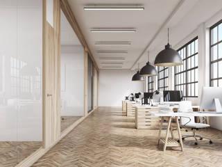 Iluminação para escritórios Escritórios minimalistas por Solis Iluminação Minimalista