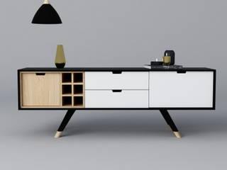 de estilo  por Muebles Decoviiaus, Escandinavo