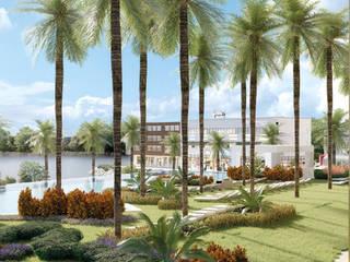 Araiza Pérez David APD Arquitectura Paisaje Diseño Taman Modern